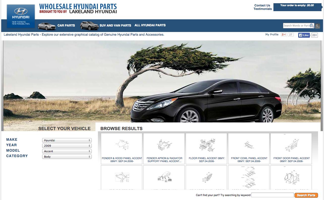 Lakeland Ford/Hyundai Reviews | 61 Reviews of Wholesalehyundaiparts