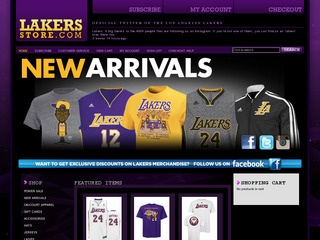 Shop the full selection of LeBron James Lakers apparel at DICK'S today. Los Angeles Lakers Apparel & Gear Whether you're heading to Staples Center or shooting hoops, the DICK'S Sporting Goods Fan Shop is your go-to spot for official NBA® gear.
