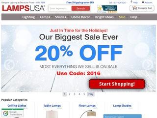 LampsUSA Rated 4/5 Stars By 25 Consumers   Lampsusa.com Consumer Reviews At  ResellerRatings