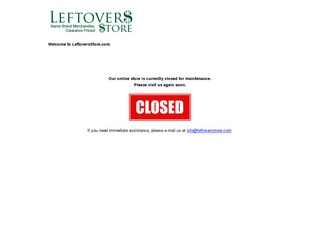 Leftovers Store