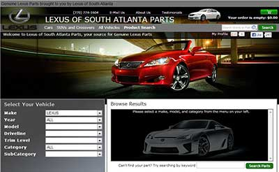 Lexus Of South Atlanta >> Lexus Of South Atlanta Parts Reviews 134 Reviews Of