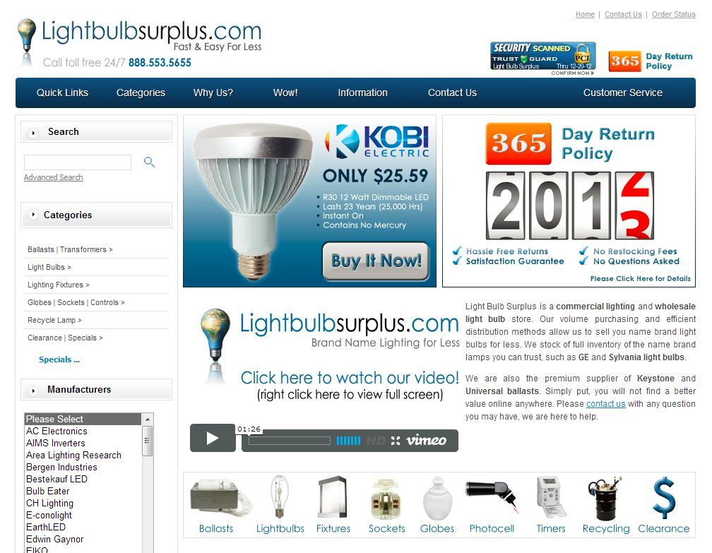 Lightbulbsurplu