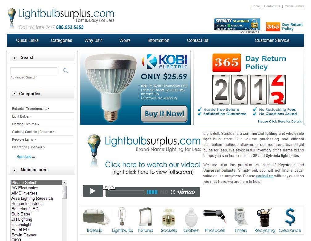 Lightbulbsurplu