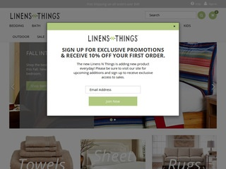 Linens 'n Thing