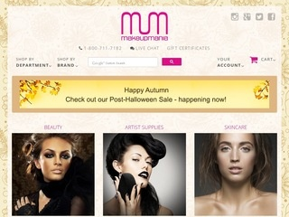 MakeUpMania Rated 5/5 stars by 241 Consumers - makeupmania.com ...