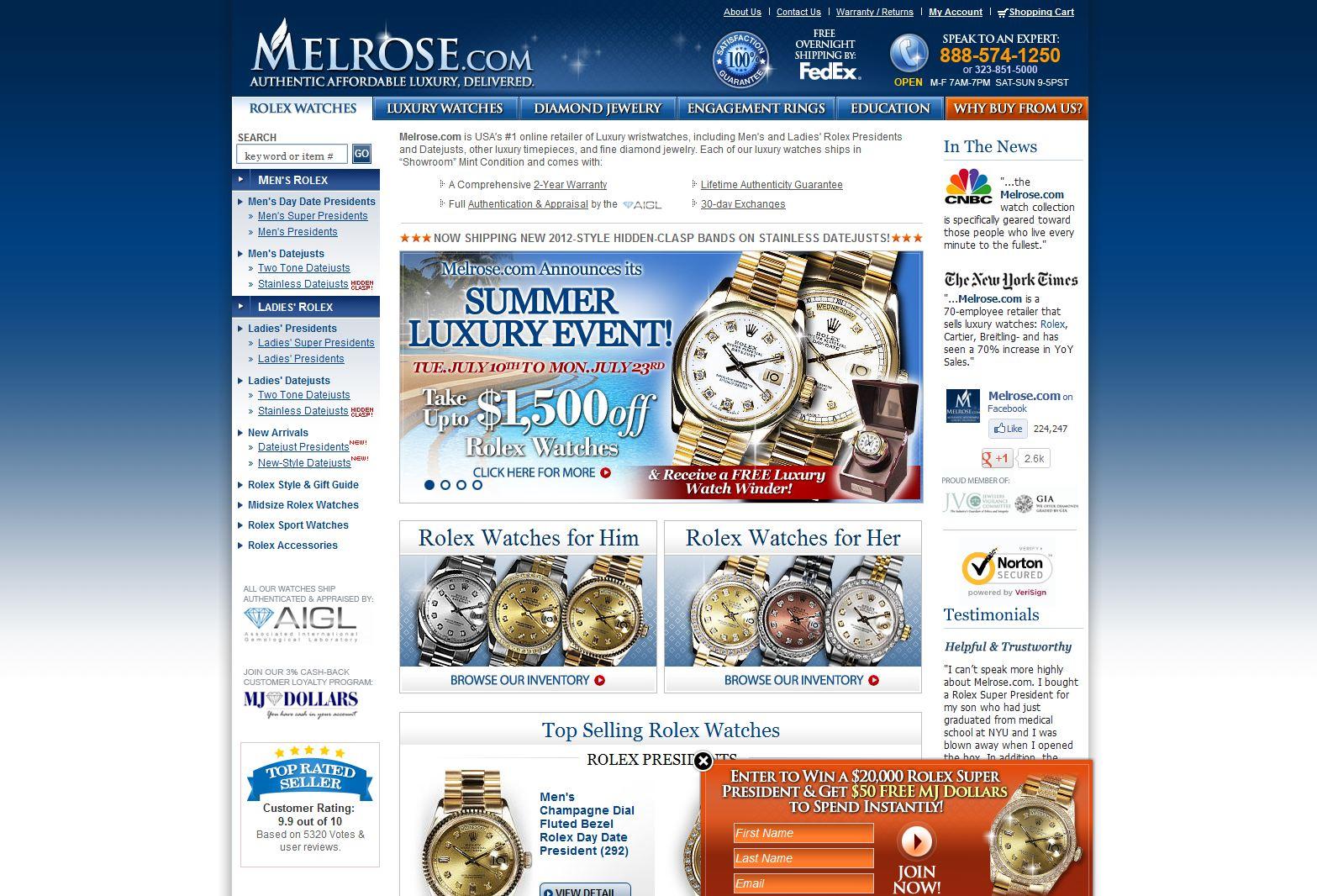 Melrose.com , L
