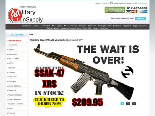 Military Gun Su