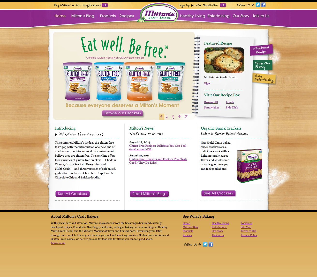 Miltons Baking