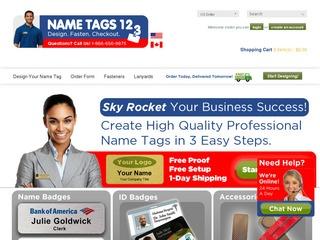 Name Tags 123