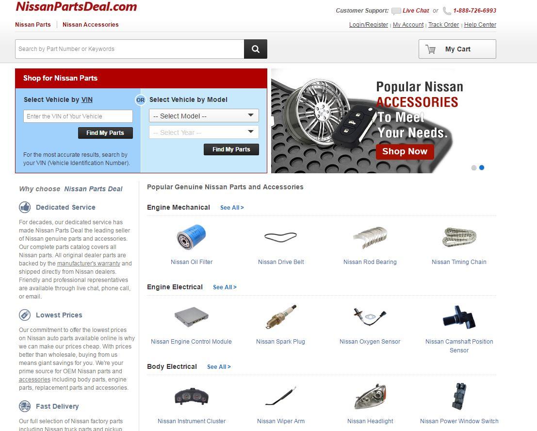 NissanPartsDeal com Reviews | 1,418 Reviews of Https