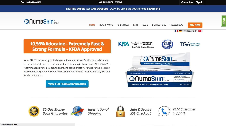 NumbSkin.com