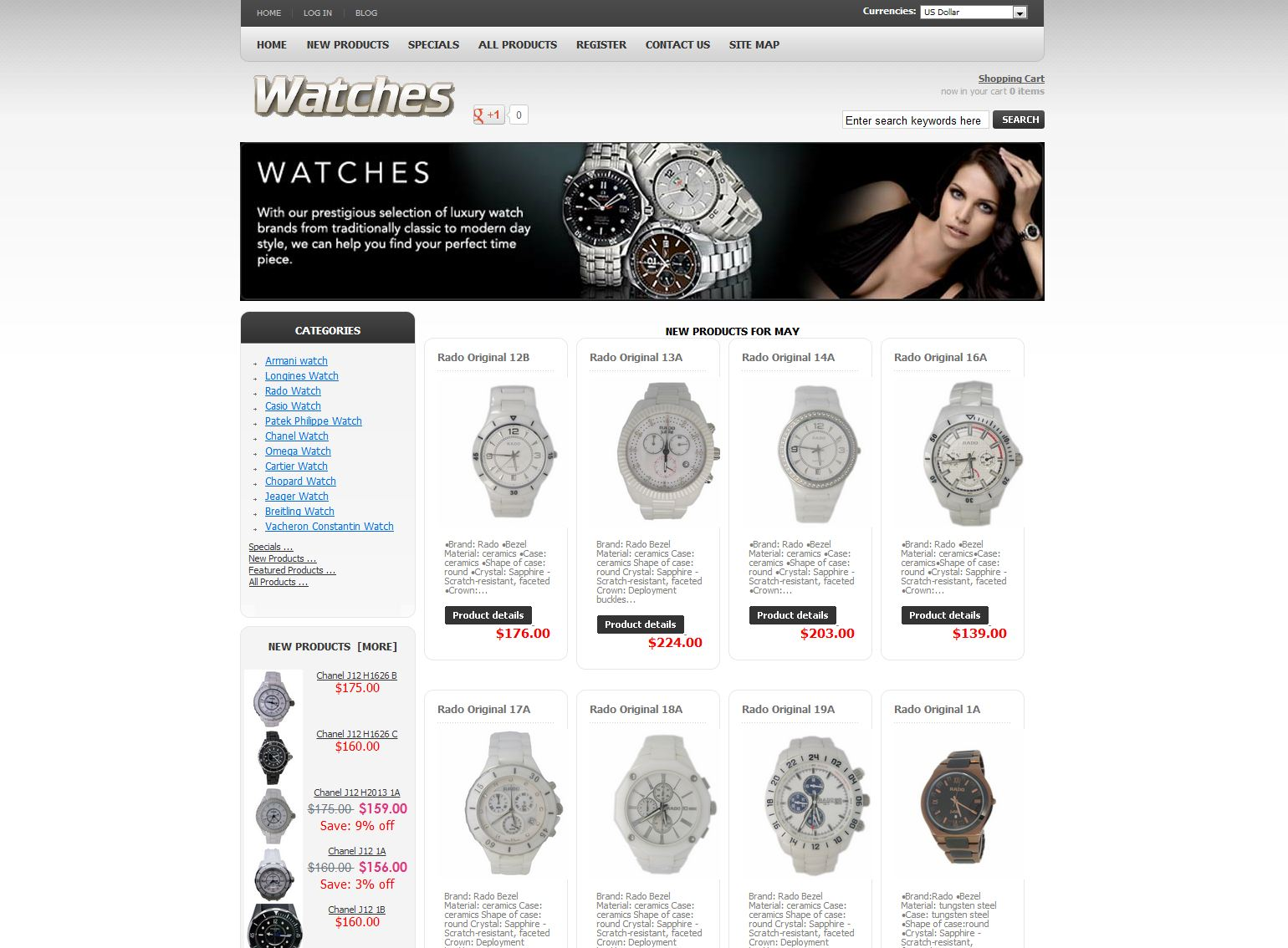 store online watch Products