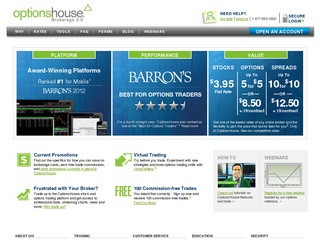 Transfer brokerage account to optionshouse