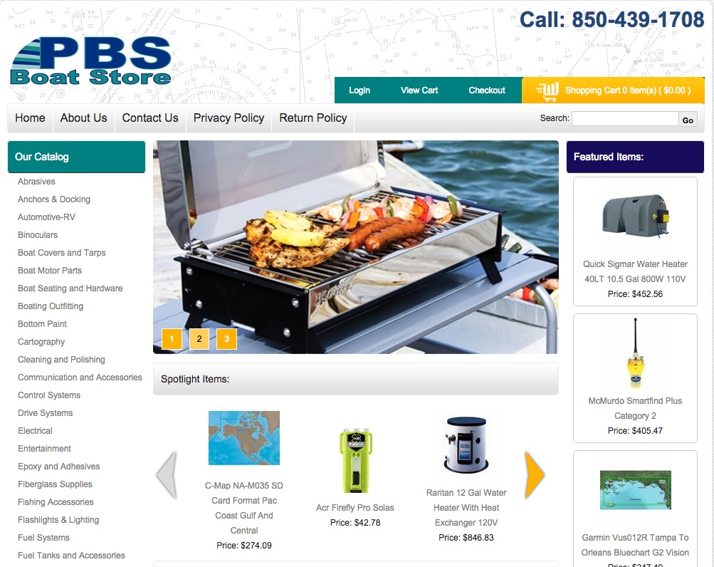 PBS Boat Store