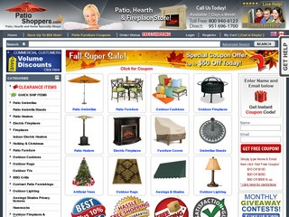 PatioShopperscom Rated Stars By Consumers Patioshoppers - Patio shoppers