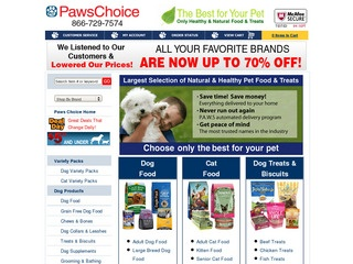 Paws Choice