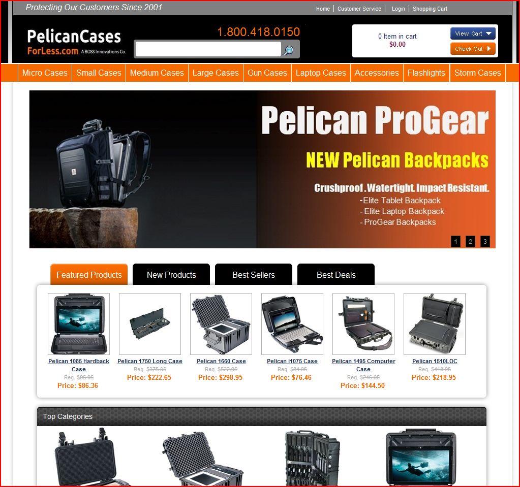 Pelicancasesforless.com