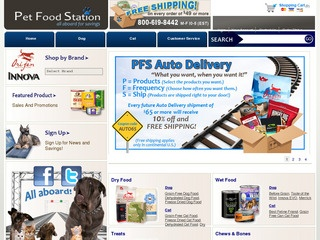 Pet Food Statio