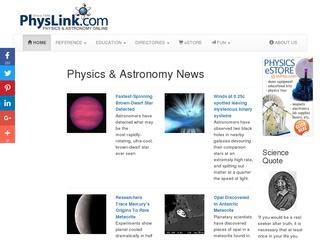 PhysLink.com Sc