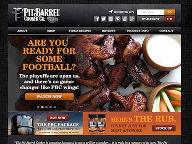 Pit Barrel Cook