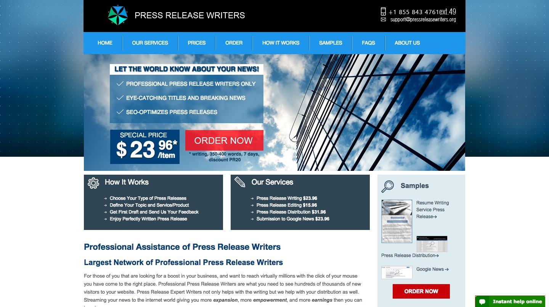 Press Release W