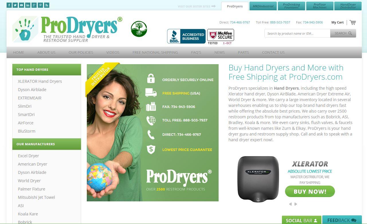 Prodryers.com