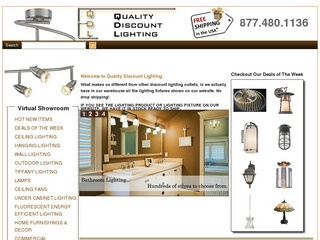 Quality Discount Lighting Reviews | 2 Reviews Of  Qualitydiscountlighting.com/servlet/StoreFront | ResellerRatings