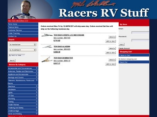 Racers RV Stuff