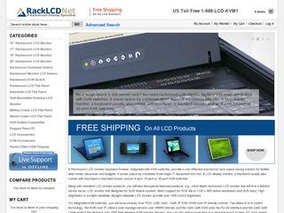 Rack LCD Net /