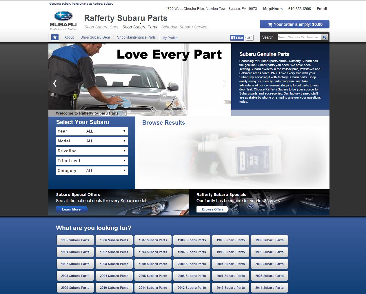 Rafferty Subaru Rated 5 5 Stars By 37 Consumers Parts