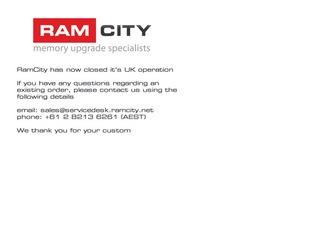 RamCity UK