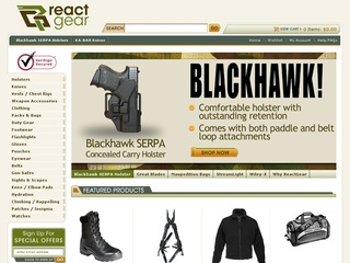 About Us. ReactGear: Great Gear Now! he could do to ensure that tactical gear shoppers online could easily find what they were looking for and the idea for playsvaluable.ml was born. Because we know how much it matters to you that we have the gear you need at a fair price, our buyers keep careful track of our inventory and review our.