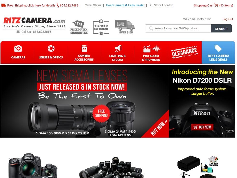 Ritz Camera Reviews   937 Reviews of Ritzcamera com