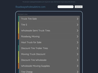 roadway wholesale tires