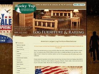 Rocky Top Log F