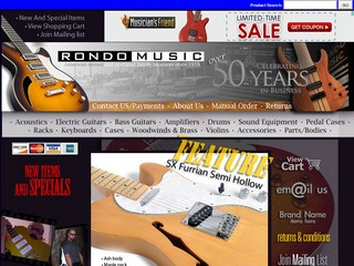 Online shopping from a great selection at Rondo Music Store.