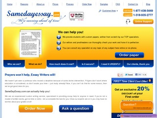 samedayessay login Log in to sitejabber, the leading consumer destination for customer ratings and reviews of businesses.