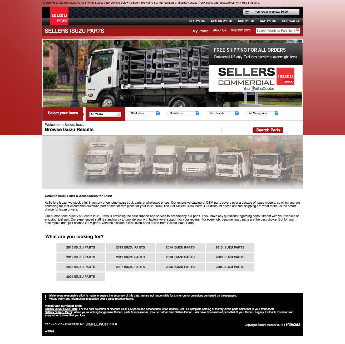 Sellers Isuzu