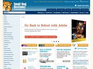 Small Dog Electronics Rated 4/5 stars by 61 Consumers - smalldog.com ...: www.resellerratings.com/store/Small_Dog_Electronics