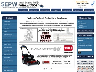Small Engine Parts Warehouse / SEPW Reviews | 2 Reviews of