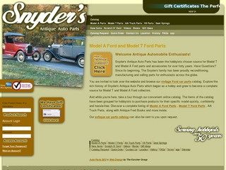 Snyders Model A >> Snyder S Antique Auto Parts Reviews 2 Reviews Of