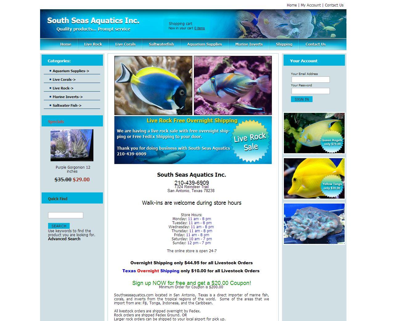 South Seas Aqua