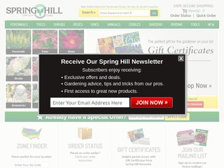 Spring Hill Nursery Reviews 14 Reviews Of Springhillnursery Com Resellerratings