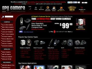 Spy Camera Spec