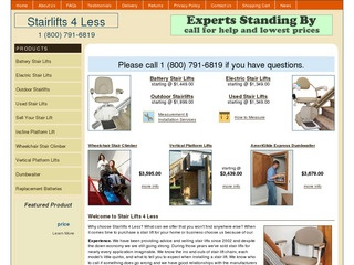 Stair Lifts 4 L