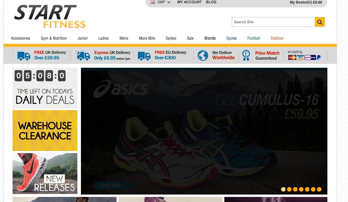 0ce793e186c Start Fitness Reviews   5 Reviews of Startfitness.co.uk   ResellerRatings