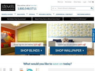 Steve's Blinds and Wallpaper Reviews