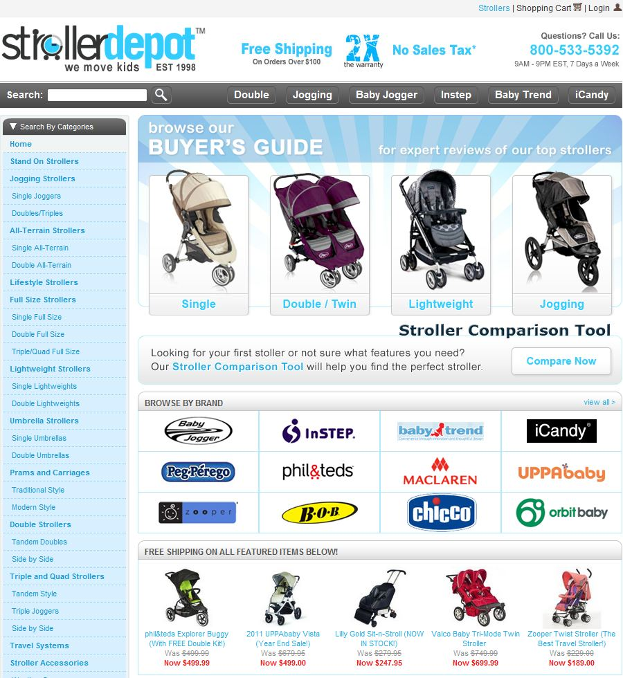 Top Sales for Stroller Depot | Up to 70% OFF | Dec Up To 70% Off! · Free Shipping. · In Stock. Best Deal. · In Stock. Buy Now.