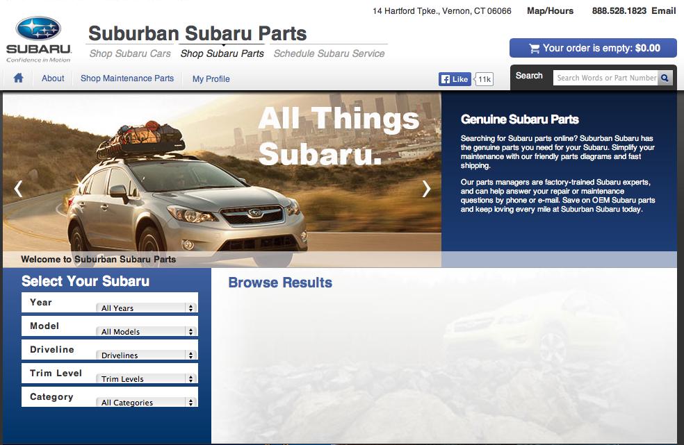Suburban Subaru