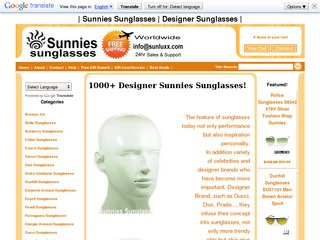Sunnies Sunglas
